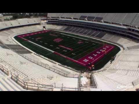 University of Houston TDECU Stadium Time-Lapse