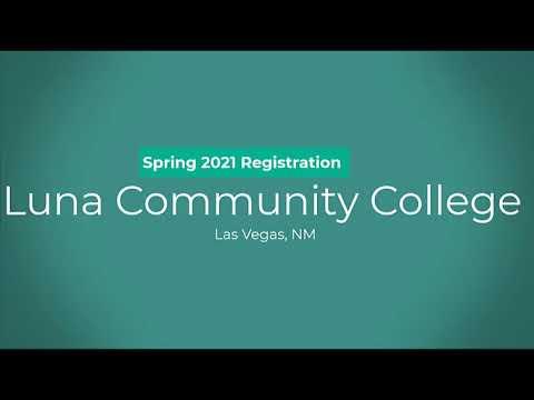 #2__Luna Community College Spring 2021 Registration