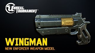 New Enforcer model : WINGMAN| Unreal Tournament