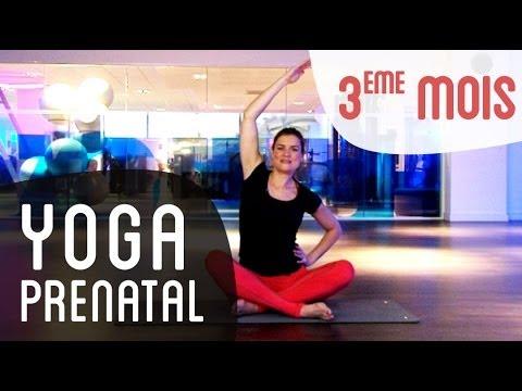 Yoga prénatal : 3eme mois de grossesse