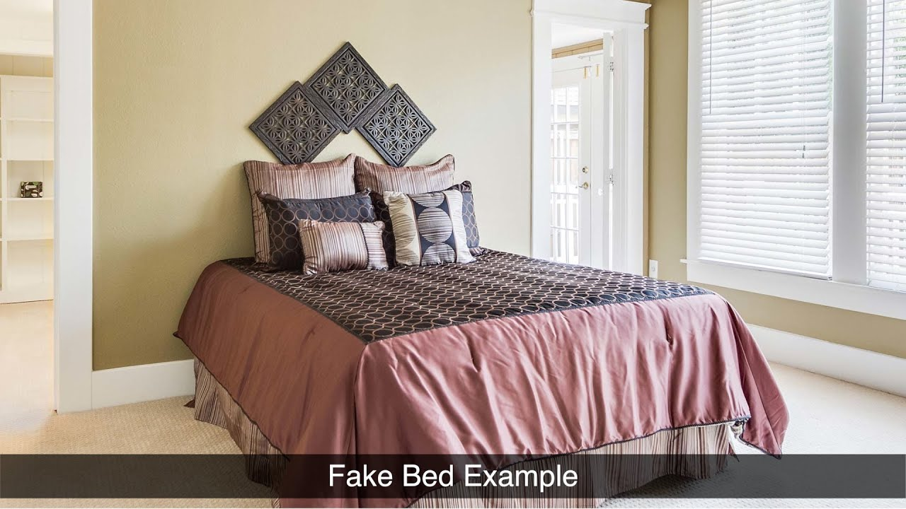 Faking It In Bed   Home Staging