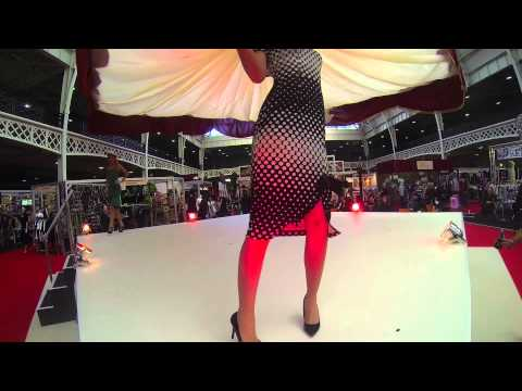 Bettie Page Clothing Fashion Scene At LondonEdge February 2014