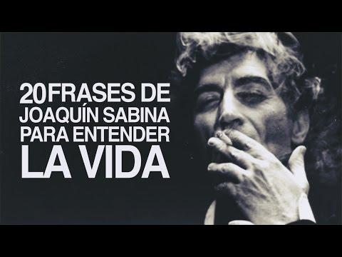 20 Frases de Joaquín Sabina para entender la vida