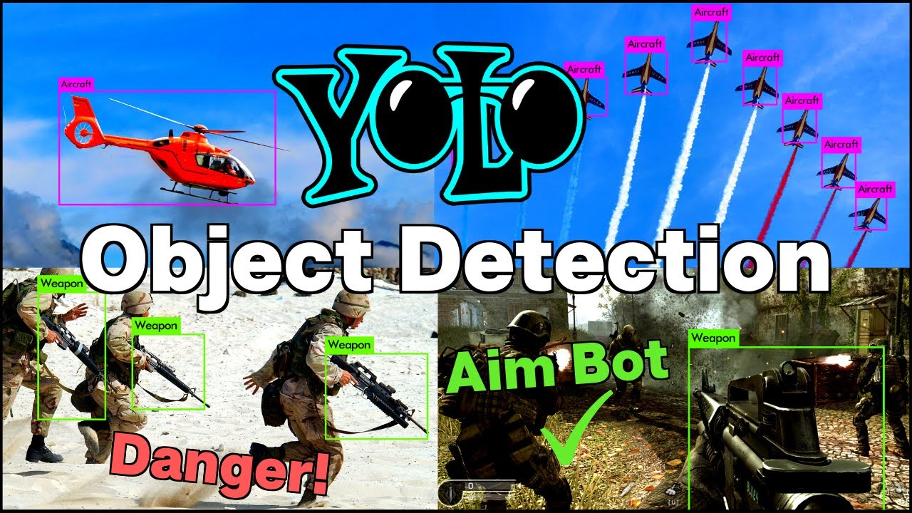 Train YOLOv3 Custom Object Detector with Darknet | Aimbot and Security Camera