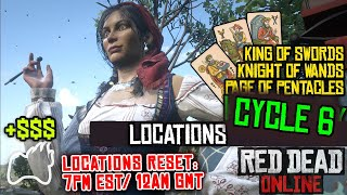 Red Dead Online Cycle 6 Locations King Of Swords Knight Of Wands Page Of Pentacles Rdo Youtube When the six of swords comes up in a reading it can indicate that sometimes the best way to end an emotional situation is to move away from it. red dead online cycle 6 locations king of swords knight of wands page of pentacles rdo