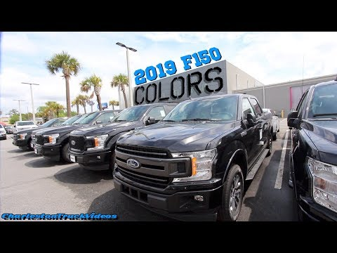 new-2019-ford-f150-exterior-colors-|-xlt,-lariat,-king-ranch-etc...-(-review-)-charlestontruckvideos