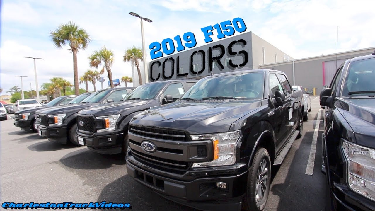New 2019 ford f150 exterior colors xlt lariat king - Try out exterior paint colors online ...