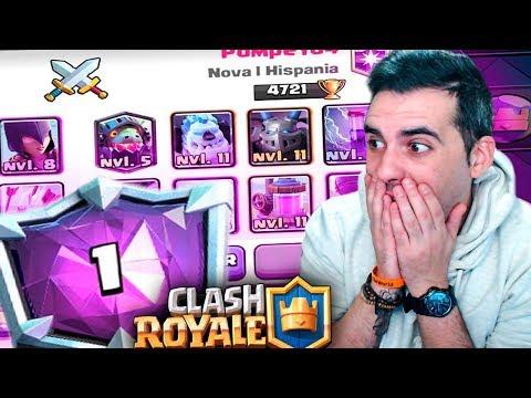 ME ENCUENTRO A POMPEYO en LADDER!! | Clash Royale | Rubinho vlc