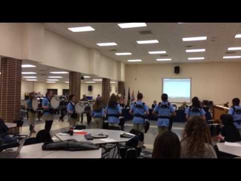 "Pottstown Middle School Drum Line - ""Raven"""