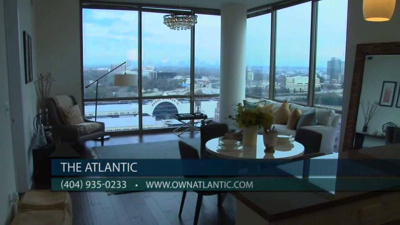 Midtown Atlanta Condos For Sale At The Atlantic: Penthouses   YouTube