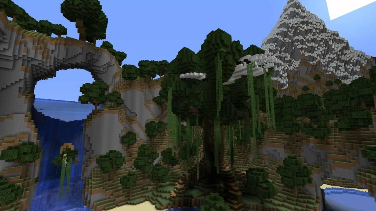 Abandoned Kingdom Minecraft Custom Terrain Download