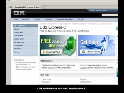 Downloading DB2 Express-C