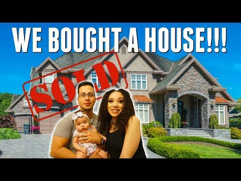 WE BOUGHT OUR FIRST HOME !!!
