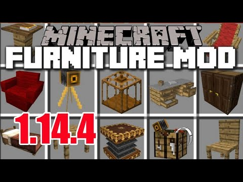 MrCrayfish's Furniture Mod 1.14.4/1.12.2   Download & Install MrCrayfish's Furniture In Minecraft