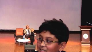 Kautilya Pandit visits to Greenwood High International School Bangalore
