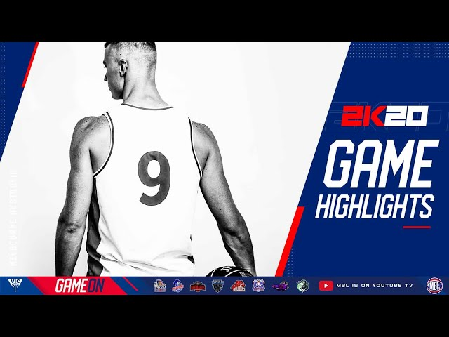 MBL 2K20 Harry Love is a BEAST! Melbourne Capitals destroyed Panthers