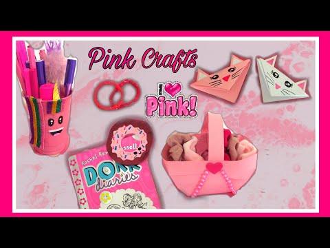 pink-craft-|-crafts-for-girls-|-super-easy-paper-crafts-for-kids-|-#diy-#crafts-|-zm-channel-|