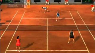 (Ps3) Virtua Tennis 2009 Singles/Doubles Gameplay