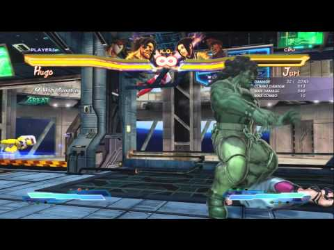 Hugo and Vega Combo Guide (SFxT ver 1.05)
