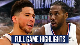 SUNS at CLIPPERS - FULL GAME HIGHLIGHTS | 2019-20 NBA Season