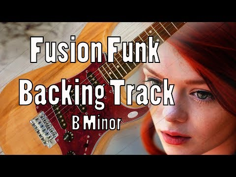 Fusion Rock Backing Track B Minor