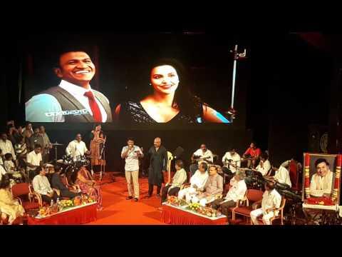 Power star puneeth rajkumar live performance singing song