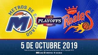 Playoffs Juego 2   Metros Vs Reales 5 Oct. 2019