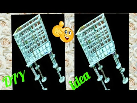 Newspaper basket with stand | How to make newspaper rack