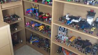 my lego superheroes dc and marvel collection