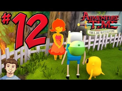 Adventure Time: Finn & Jake Investigations Walkthrough - PART 12 - Helping Flame Princess