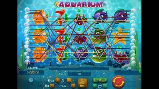 Как играть в игровой автомат Aquarium. Обучающее видео для начинающих