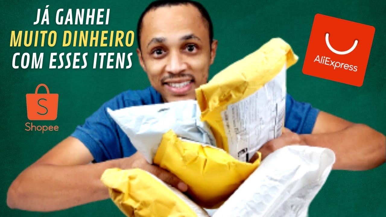 Já fiz MUITO DINHEIRO com esses itens | Unboxing de Relógios e mais itens que vendem bastante