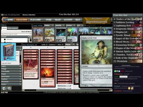 Free Win Red in Modern!