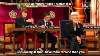 [ENG SUB] GD&TOP Rap Battle in NAN