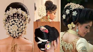 7 Easy Party Bun hairstyles For wedding    hairstyles for short hair    new hairstyle 2020    bridal