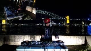 DJ Cotts & Ravine ft Gammer (UK) - B2B Hardcore Mix by the Sydney Harbour Bridge!