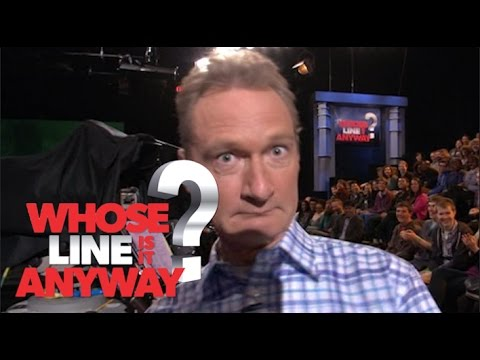 Ryan Stiles Flirts with the Camera Woman - Whose Line Is It Anyway? US