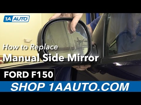 How To Replace Manual Side Mirror 97-04 Ford F150