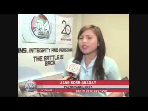 TV Patrol Northern Mindanao   June 23, 2015 FEAT. Jane Rose Abaday