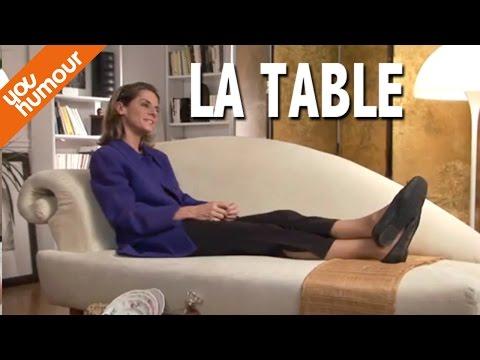 Victoire chez le psy, La table