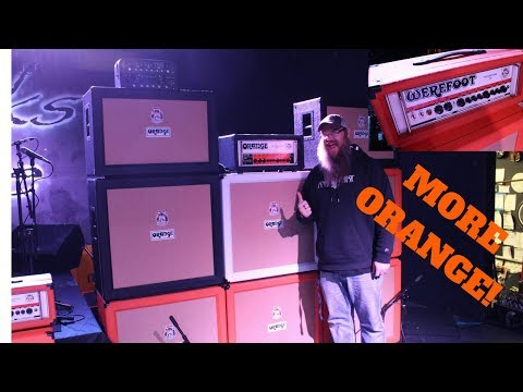 Texas Metal, Orange Amps, Werefoots and RNA MUSIC VLOG