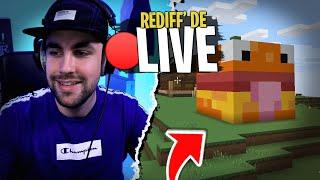 Construction de ma maison Burger sur Minecraft !