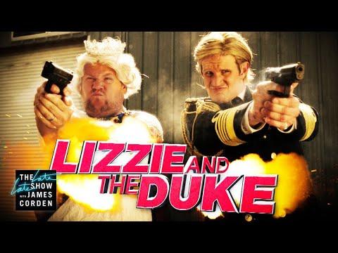 Lizzie & The Duke w Matt Smith & Terry Crews