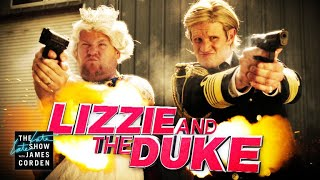 Lizzie & The Duke w/ Matt Smith & Terry Crews