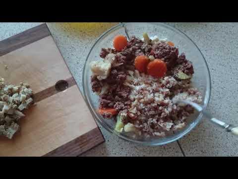 Вопрос: Как приготовить полезный корм для собаки своими руками?