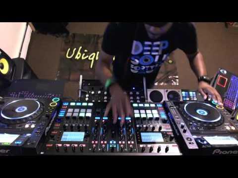 "DJ T-Wise (Ubiquity Soul) ""Live"" on House Station Radio 12-2-15"