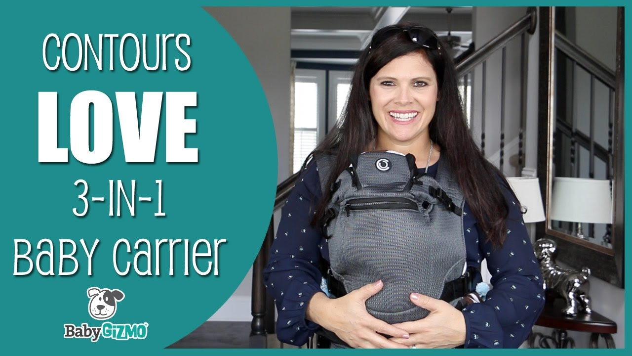 7344c17c337 Contours Love 3 n 1 Baby Carrier Review by Baby Gizmo - YouTube