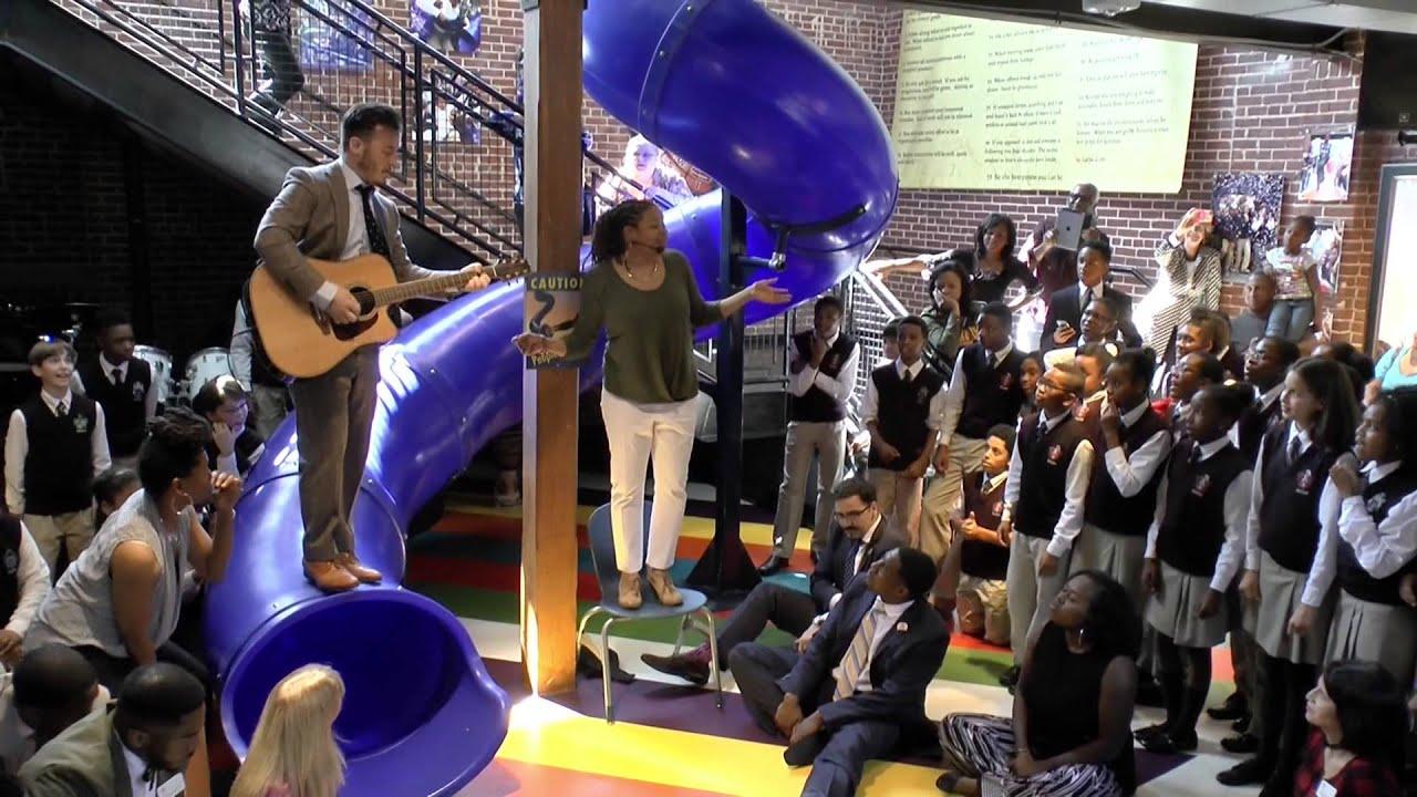 Ron Clark Academy Staff Kicks Off Spring Break - YouTube