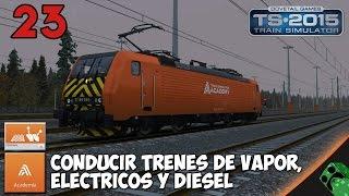 Train Simulator 2015 - Academia - Conduccion basica de trenes - Gameplay Español