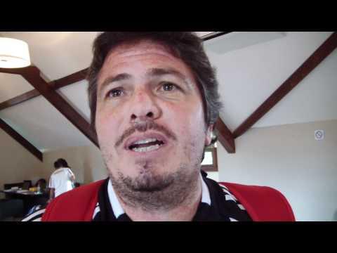 Capitão paraguaio Alfredo de Brix fala sobre a Fed Cup em Curitiba